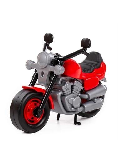 Polesie Polesie 8978 Oyuncak Yarış Motosiklet Bike Kırmızı Renkli